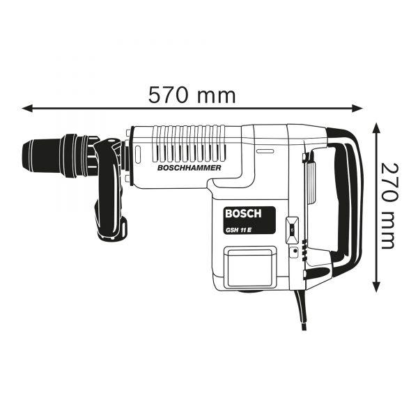 Bosch GSH11E-4