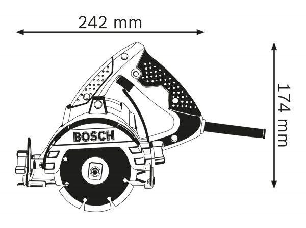 Bosch Stone Cutter GDM13-34-4