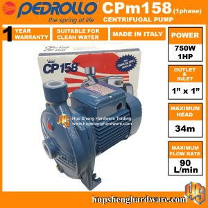 Pedrollo Centrifugal Pump CPm158-1a
