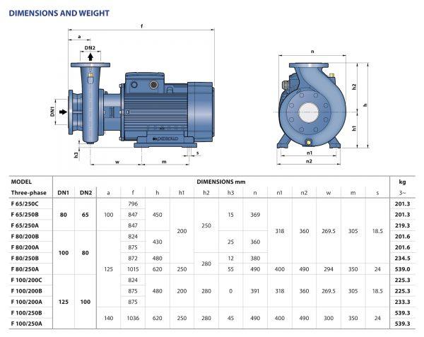 Pedrollo Centrifugal Pump IE3 Motor F Series-5