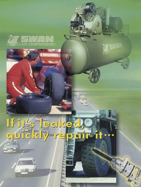 SWAN Air Compressor with Engine-1