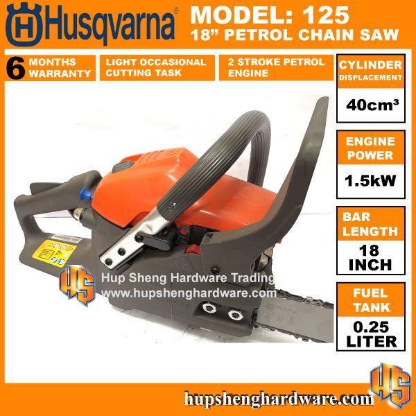 Husqvarna 125 Chainsaw-2a