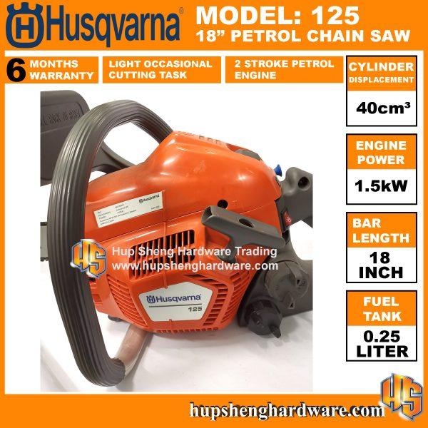 Husqvarna 125 Chainsaw-3a