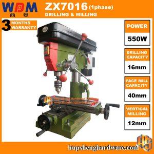 WDM ZX7016-1a Drilling & Milling