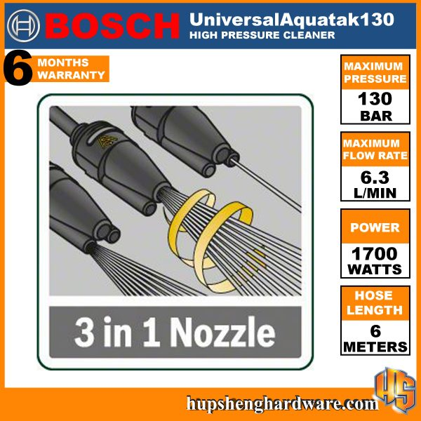 Bosch UniversalAquatak130-3a