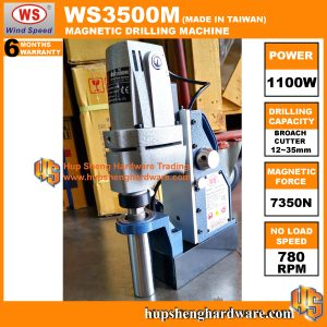 WindSpeed WS3500M-2a Magnetic Drilling Machine
