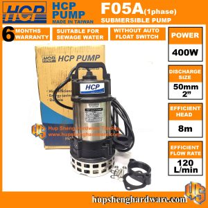 HCP F05A-1a Sewage Submersible Pump