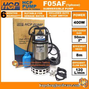 HCP F05AF-1a Sewage Submersible Pump-1