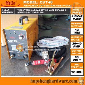 Mello CUT40 Plasma Cutter2a