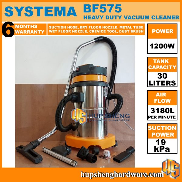 Systema Milan Vacuum Cleaner BF575-1a