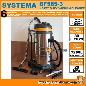 Systema Milan Vacuum Cleaner BF585-1a