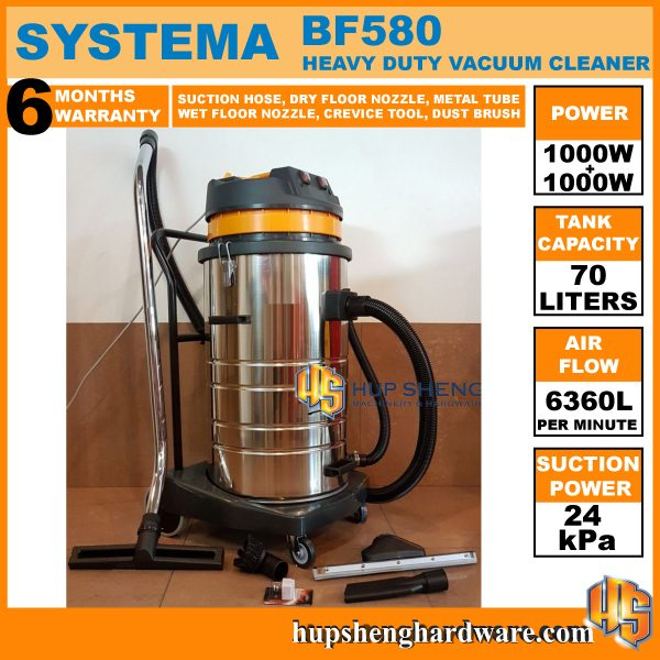 Systema Vacuum Cleaner BF580-1a