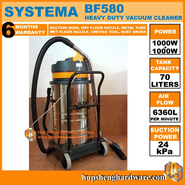 Systema Vacuum Cleaner BF580-2a