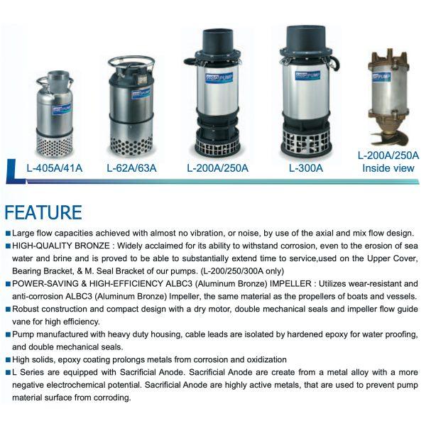 HCP Large Volume Submersible Pump L Series-1