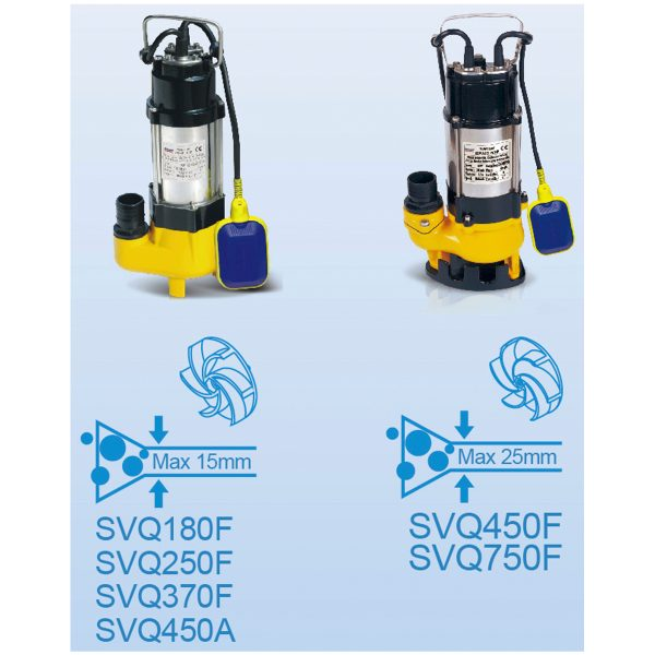 Stream Submersible Pump VF-1
