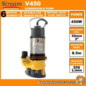 Stream V450-1a Submersible Pump