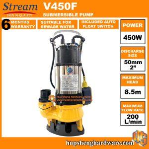 Stream V450F-1a Submersible Pump