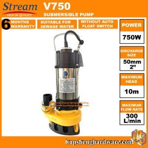 Stream V750-1a Submersible Pump