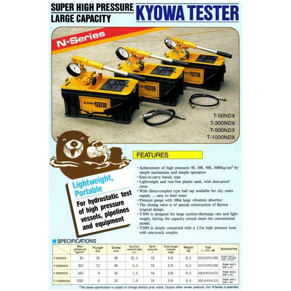 Kyowa Hydro Pressure Tester N Series