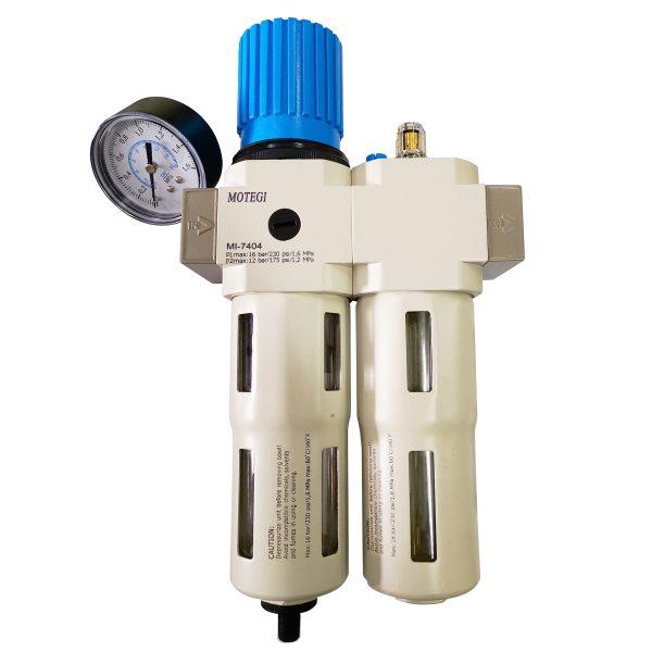 Motegi Air Filter, Regulator, Lubricator