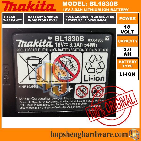 Makita BL1830Bc