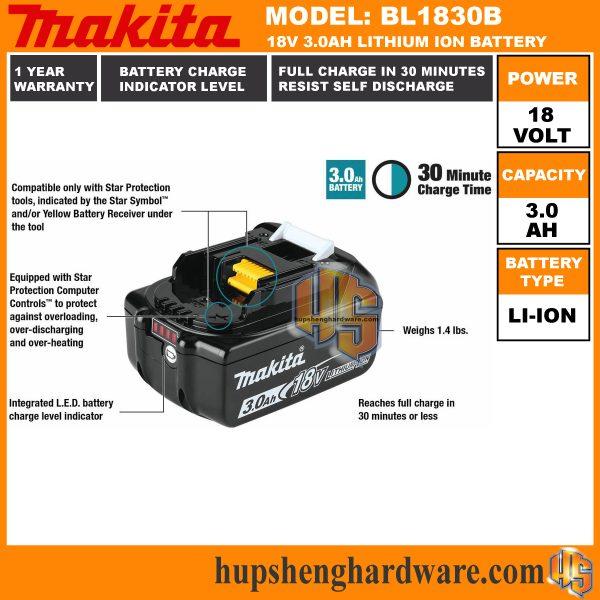 Makita BL1830Bf