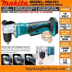 Makita DDA351Z-1a