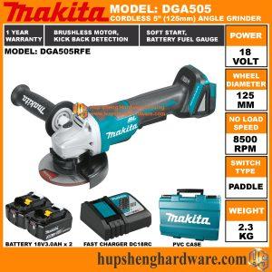 Makita DGA404 DGA405 DGA505-3 Makita DGA404 DGA405 DGA505-2 Makita DGA404 DGA405 DGA505-1
