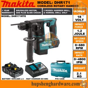 Makita DHR171RTEa