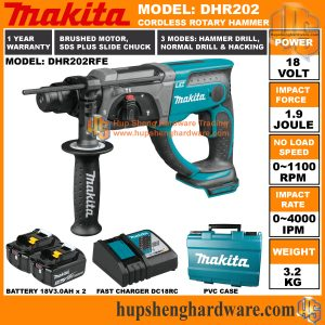 Makita DHR202RFEa
