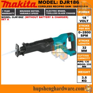 Makita DJR186Z-1a