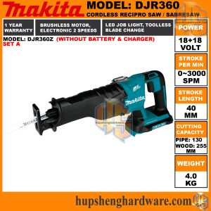 Makita DJR360Z-a