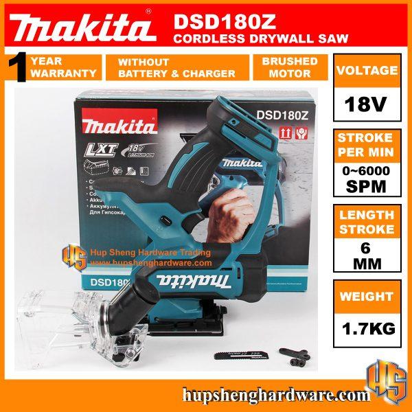 Makita Cordless Drywallsaw DSD180Z-1a