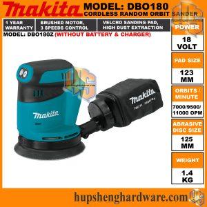 Makita DBO180-1