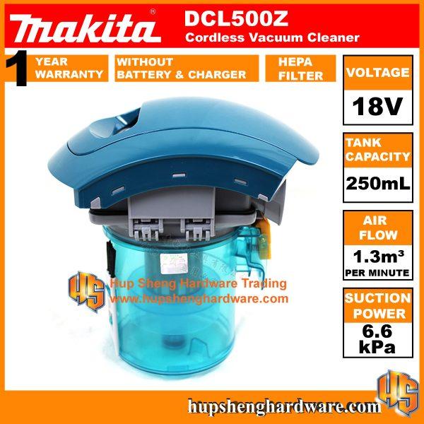 Makita DCL500Z-1c