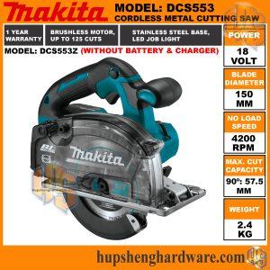 Makita DCS553Z-1a