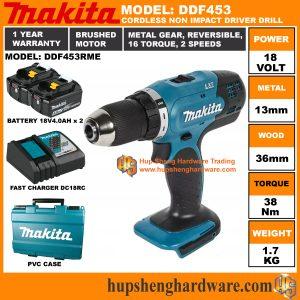 Makita DDF453RMEa
