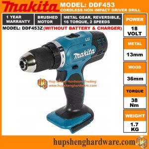 Makita DDF453Za