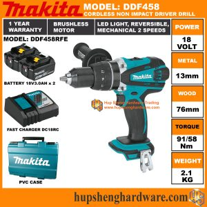 Makita DDF458RFEa