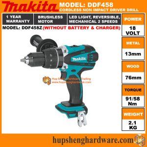 Makita DDF458Za