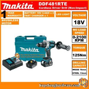 Makita DDF481RTE-1a