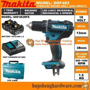 Makita DDF482RFEa