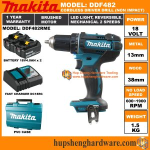 Makita DDF482RMEa