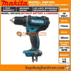 Makita DDF482Za