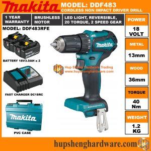 Makita DDF483RFEa