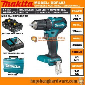 Makita DDF483RTEa
