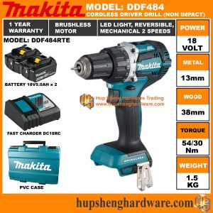 Makita DDF484RTEa