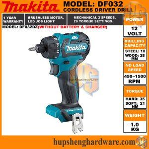 Makita DF032DZ-1aa