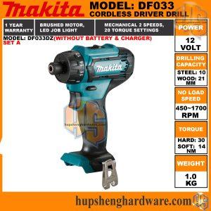 Makita DF033DZ-1aa