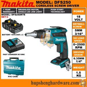 Makita DFS250RTE-1b